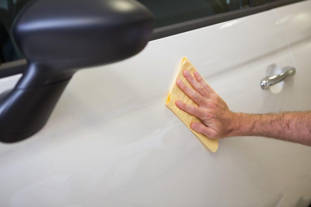 car polishing and drying