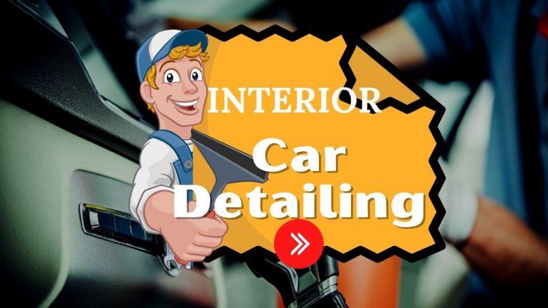 Interior Car Detailing – Interior Car Cleaning
