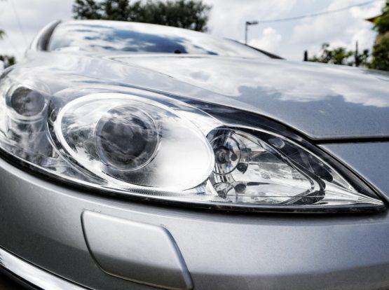 headlights cleaned